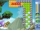 大砲でブロックを壊していくパズルゲーム Dino Blitz