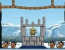 投石をしてバランスを崩し敵を倒すゲーム Siege Hero