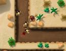 牛を守るカウボーイの防衛ゲーム Long Way