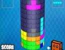 塔にブロックを詰めるテトリスゲーム シリンダースマッシュ
