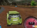 3D風のカーレースゲーム ミニロケット3D