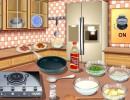 料理ゲーム パスタカルボナーラ
