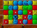 入れ替えパズルの防衛ゲーム マッチパズルディフェンス