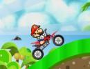 マリオのバイクゲーム マリオビーチバイク