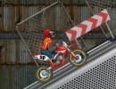 トリックを決めながら進むモトクロスバイクゲーム エクストリームモトXチャレンジ