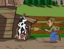 牛が小屋から脱出するアクションゲーム ザ グレイトエスケープ