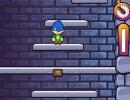 崩れていく足場の塔をひたすら登っていくミニゲーム アイシータワー