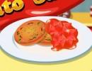 料理ゲーム ハーブリッソール ウィズ トマトソース