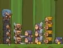 ユニットを編成して敵を倒すシミュレーションゲーム ブレイブショーティーズ