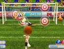 ゴールの的を狙っていくサッカーゲーム サッカースター
