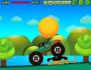 デコボコ道を4WDで下っていくカーバランスゲーム ダウンヒルラッシュ 2
