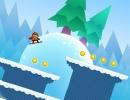 雪崩から逃げるスノボーアクションゲーム アバランチェキング