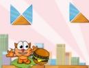猫に食べ物を誘導させていくパズルゲーム キャット アラウンド ザ ワールド
