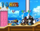 ONE PIECEのキャラ達によるスマブラ風の格闘アクションゲーム ワンピース0.6
