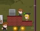 2人で協力して人質を救出するアクションパズルゲーム ポリスチーム レスキュー