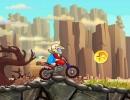 トリックを決めながら進むバイクゲーム MotoX Fun Ride