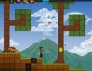 マインクラフト風2Dゲーム オリオン サンドボックス