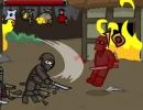 敵を倒していく横スクロールアクションゲーム ニンジャ ブロール