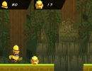 敵を倒しながら進むジャンプアクションゲーム サー ボトムタイト