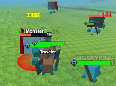 モンスターを討伐していくアクションオンラインゲーム Hordes.io