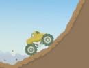 4WD車でデコボコ道を進んでいくカーゲーム ファンキートラック
