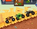 モンスタートラックのカーレースゲーム マッド トラック チャレンジ 2
