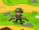 左右に出現する敵を倒すガンアクションゲーム シュートアウト バトル