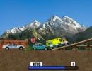 色々な車と勝負するハチャメチャカーレースゲーム デス チェイス