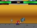 マリオやロックマン達が戦う格闘アクションゲーム スプライト ファイター