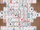 同じトランプカード牌を取っていく上海パズルゲーム Mahjong Cards