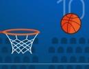 ボールを落とさないようにクリックするミニゲーム フィンガー バスケットボール
