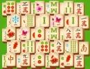 同じ種類の麻雀牌を消していく上海パズルゲーム マージャン ダイナスティ