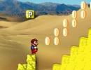砂漠ステージを進むマリオアクションゲーム マリオ ジュウ