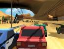 CPUとレースをする3Dカーレースゲーム ピクセルラリー 3D