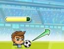 次々にフリーキックを決めていくサッカーゲーム パペット サッカー