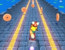 障害物を避けて進むランニングアクションゲーム レッドパンダ サーファー
