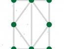 一筆書きで図形を完成させていくパズルゲーム 1ライン パズルマニア