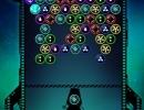 同じ絵柄のバブルを壊していくパズルゲーム バブルシューター ギャラクシー