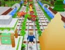 マイクラ世界のランニングアクションゲーム クラフト ランナー