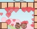 線を引いてクマのカップルを合流させるパズルゲーム ラブベアー