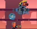 敵のサイボーグ軍団を倒していくアクションゲーム サイボーグ スレイヤー