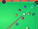 1人プレイとオンラインで遊べるビリヤードゲーム MiniPool.io