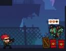 銃でゾンビを倒して進むアクションパズルゲーム ゾンビ ガンポカリプス