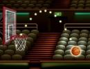 ボールをゴールにシュートしていくバスケゲーム バスケットボール ストリート
