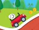 車に乗せている卵を落とさないように運ぶゲーム エギー カー