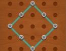 線を動かしてお手本通りの図形を作るパズルゲーム ライン パズル