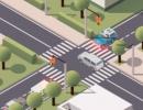 事故を起こさないように信号を変えていくゲーム トラフィック コマンド