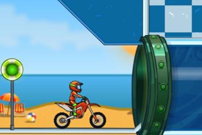 モトクロスバイクゲーム Moto X3M Pool Party