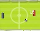 サッカーボールを跳ね返して相手のゴールに入れるゲーム アルティメイト ポン