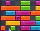 ブロックをマウスでずらして消していくパズルゲーム パズル ブロック